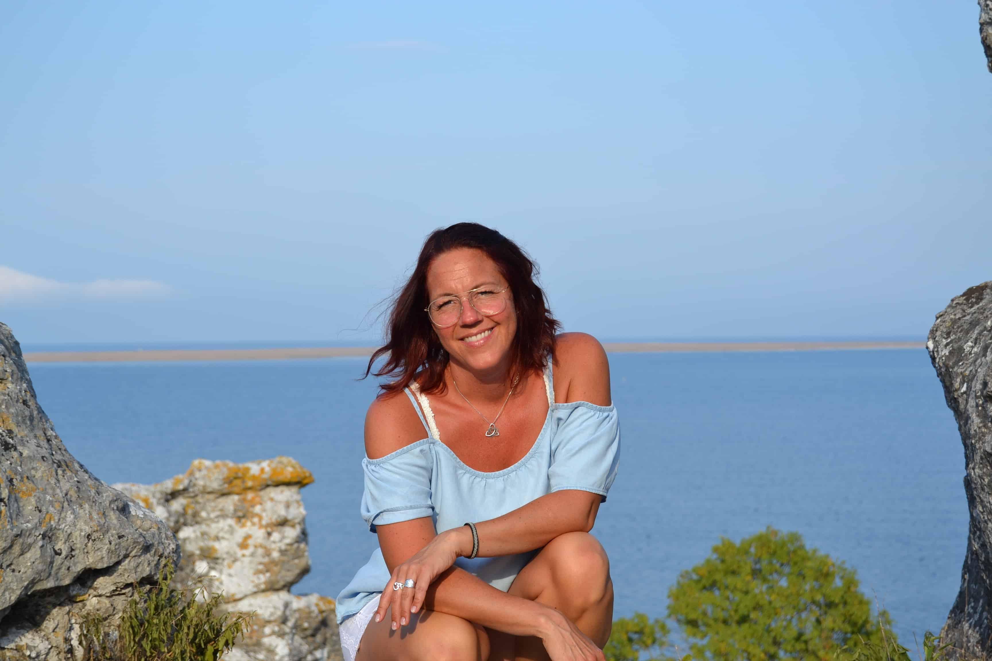 Marita by the sea